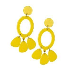 Yellow Earrings paparazzi